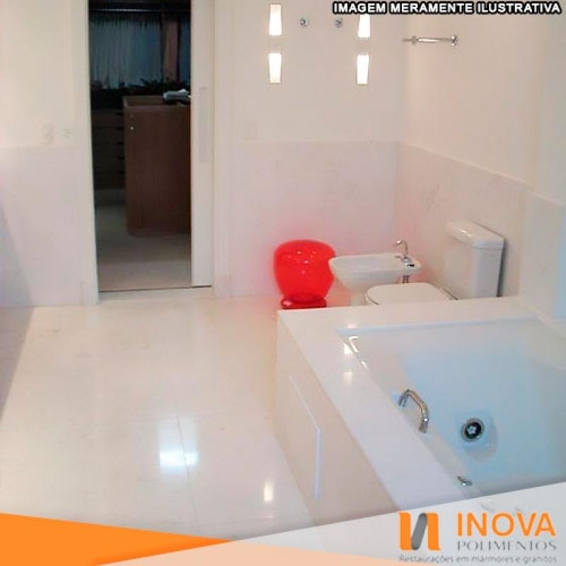 Impermeabilização de Mármore de Banheiro Valor Raposo Tavares - Impermeabilização de Mármore Pia