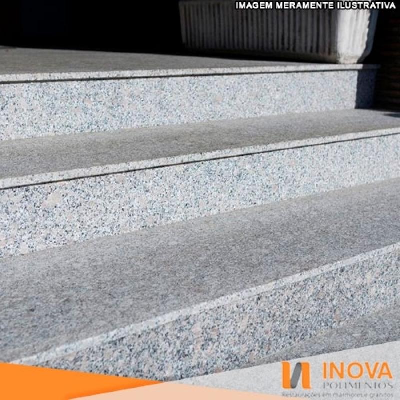 Limpeza Escadas Granito Pirambóia - Limpeza em Granito