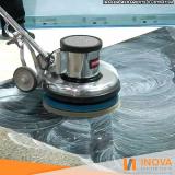 contratar serviço de limpeza de mármore preto Conjunto Residencial Butantã