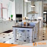 cristalização de piso de mármore cozinha Tatuapé