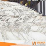 cristalização de piso de mármore para escada valor Parque Colonial