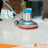 empresa para limpeza de piso mármore claro Pompéia