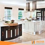 hidrofugação de piso de mármore cozinha