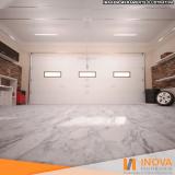 hidrofugação de piso de mármore para garagem