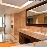 hidrofugação de piso de mármore em apartamento Moema