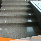 limpeza de escada de granilite preço Aricanduva