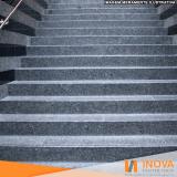 limpeza de escada de granilite valor Cidade Dutra