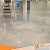 limpeza de piso de mármore para garagem valor Moema
