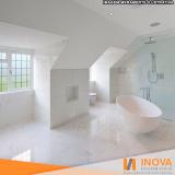 limpeza de piso mármore claro Serra da Cantareira
