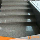 limpeza escada granilite preço Vila Suzana