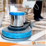 polimento de piso antiderrapante mármore Jockey Club