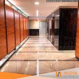 polimento de piso de mármore rústico preço Brooklin