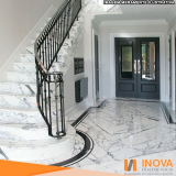 preço da cristalização de piso de mármore para escada Jardim Bonfiglioli
