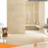 processo de levigamento de piso mármore claro Jardim Namba