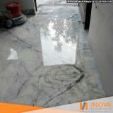 quanto custa cristalização de piso de mármore área externa Sumaré