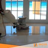 quanto custa restauração de piso em mármore Limão