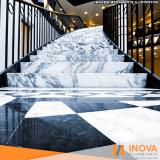 serviço de hidrofugação de piso de mármore para escada Pompéia