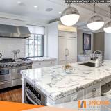 vitrificação de mármore de pia de cozinha